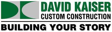 David Kaiser Custom Construction Logo